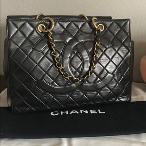 Rare vintage Chanel Grand Shopping Tote